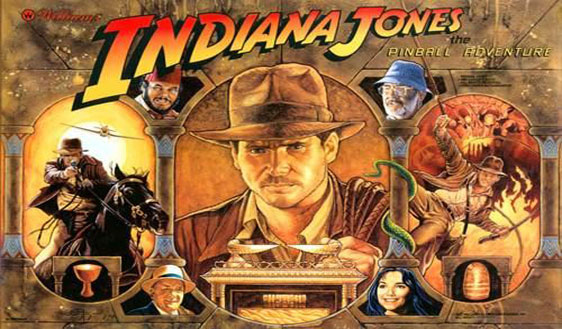 Indiana Jones pinball machine for sale