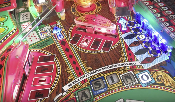 Riverboat Gambler pinball machine for sale