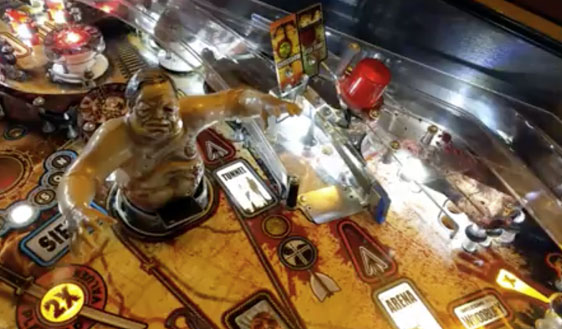 The Walking Dead pinball machine for sale